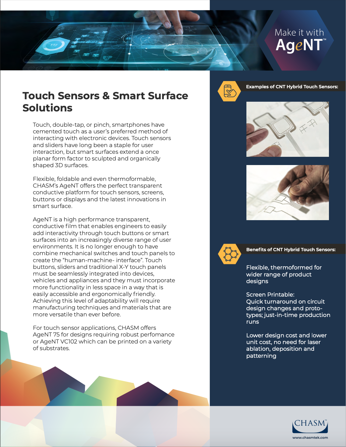 Touch Sensors One Pager